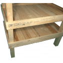 Pallet Kitchen Garden - Composition left side shelves