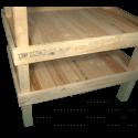 Pallet Kitchen Garden - Composition left side shelves