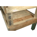 Pallet Kitchen Garden - Composition left side shelves three