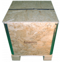 Wooden Osb Foldable box - Front hight