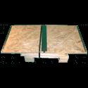 Cassa in legno osb pieghevole - Smontata frontale