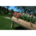 Pallet Orto - Fontana in un giardino