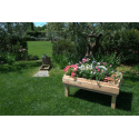 Pallet Orto - Fontana in un giardino 2