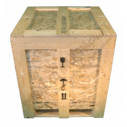Wooden Osb Box - from above