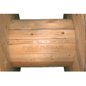 Bobine in legno per cavi (diametro 100cm) nuova - Dettaglio gamba