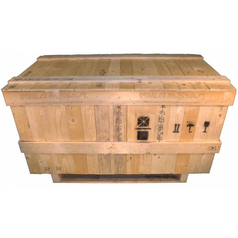 Heavy Duty Wooden box - Front