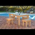 Pallet Tafel - zwembad 2