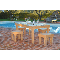 Pallet Table - pool 2