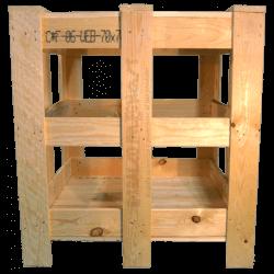 Grade de madeira
