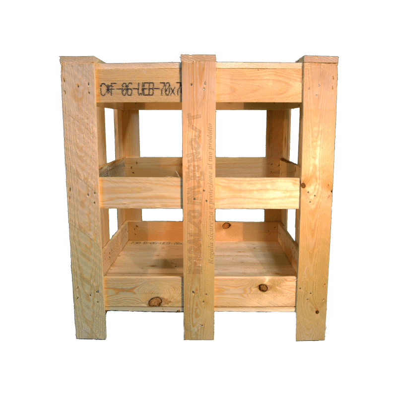 Wooden Crate - Front