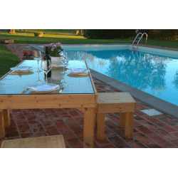 Pallet Table - pool 7