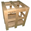 Wooden Crate - Side