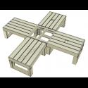 Modular Pallet Croce W-MP-CROCE