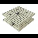 Modular Pallet Quadrato W-MP-QUADRATO
