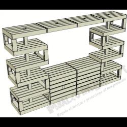 Modular Pallet Bancone W-MP-BANCONE
