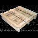 Gabbia in legno - Frontale