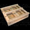 Gabbia in legno - Laterale basso smontata da trasporto