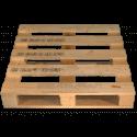Palette en bois à quatre entrées