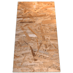OSB3 sheets tickness 9mm - Side short