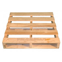 Two Way wooden pallet - Front
