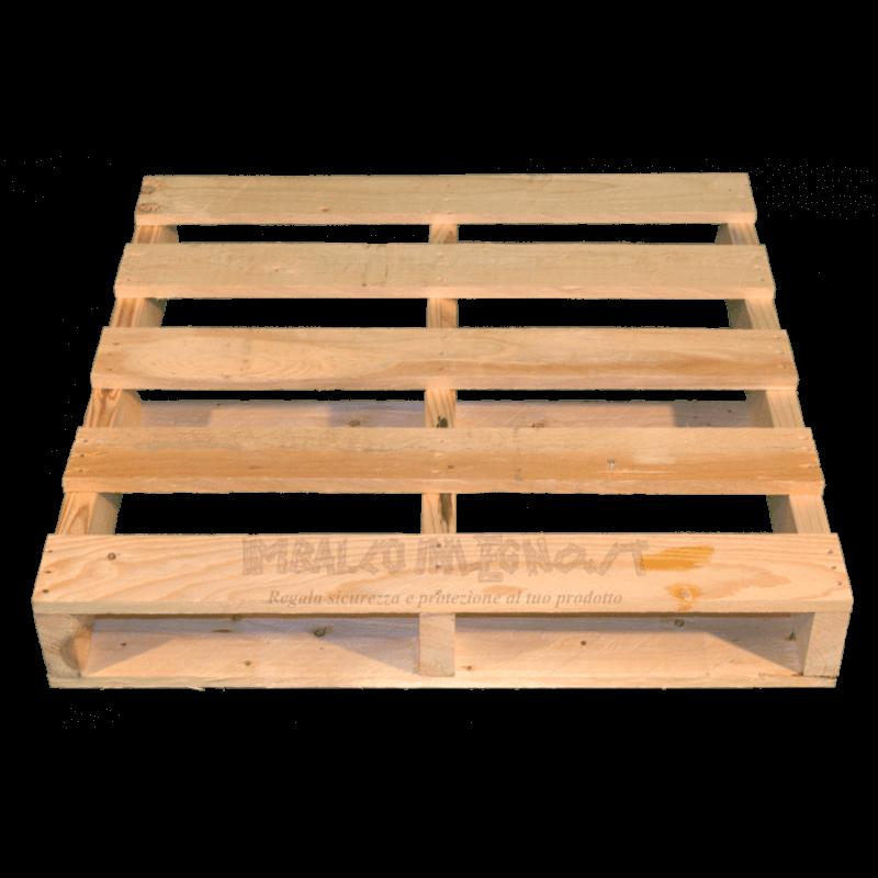 Frontale - Pallet in legno a 2 vie
