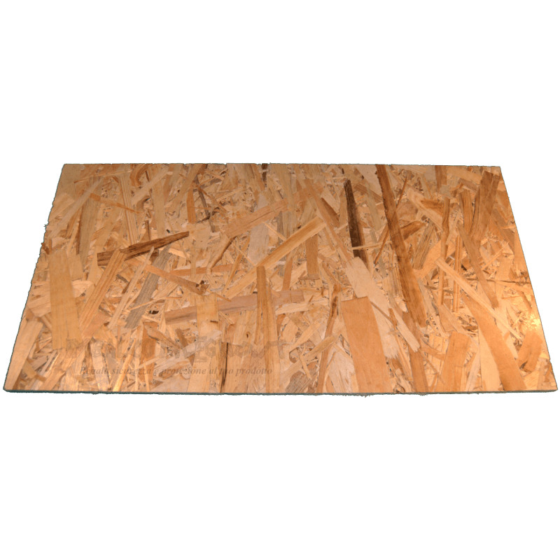 OSB3 sheets tickness 9mm - Front