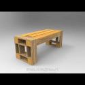 Modular Pallet Ridotto - Panchina