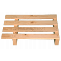 Two Way Light wooden pallet - offset frontal below 60 cm