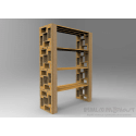 Modular Pallet Ridotto - Scaffale