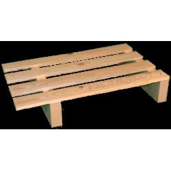 Pallet a 2 vie leggero - Laterale disassato sotto 60cm
