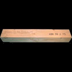Houten balk 75x90 mm