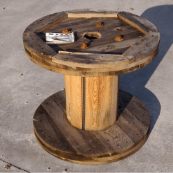 Used Wooden Reel