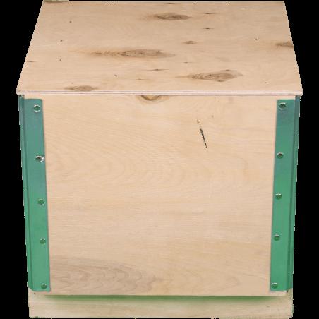 Faltbare Sperrholz-Kiste - Vorderseite