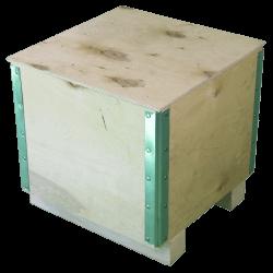 Cassa in legno compensato pieghevole - Laterale sinistro