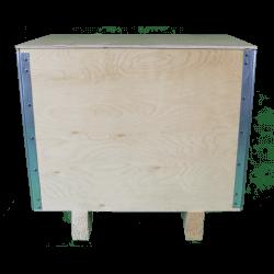 Cassa in legno compensato pieghevole - dimensioni maggiori