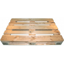 Pallet 120x80 Epal nuovo - Frontale alto