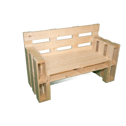 Poltrone In Pallet.Pallet Bench