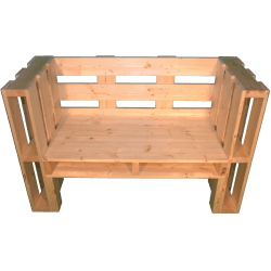 Pallet panchina - Frontale medio