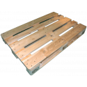 Pallet 120x80 Epal nuovo - Laterale sinistro