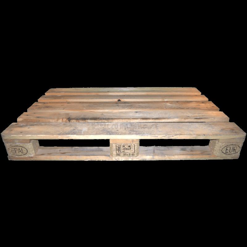 Pallet 120x80 Epal usato - Frontale basso