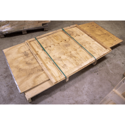 Cassa in legno compensato pieghevole 120x100x85h