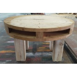 Pallet table 75x75x40h