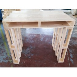 Desk pallet 120x80x100h Outlet