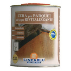 Water-based parquet wax