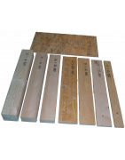 Wood boards and osb3 sheets.