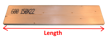 Tongue and Groove Board 19x146mm measures