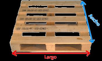 cmo introducir las medidas correctas palet de madera - Palet De Madera