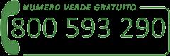 Ordini via telefono numero verde