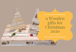 9 Wooden gifts for Christmas 2020