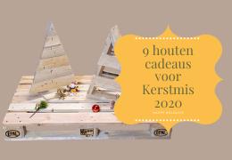 9 houten cadeaus voor Kerstmis 2020